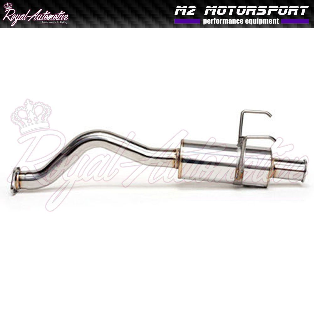 Honda Civic Type R Performance Cat Back Exhaust Stainless Spoon N1
